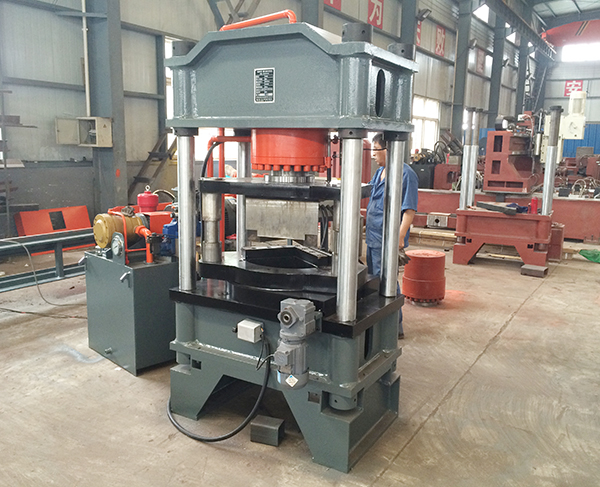 QJ200 HYDRAULIC NOTCHING MACHINE FOR STEEL ANGLE  (PATENT)