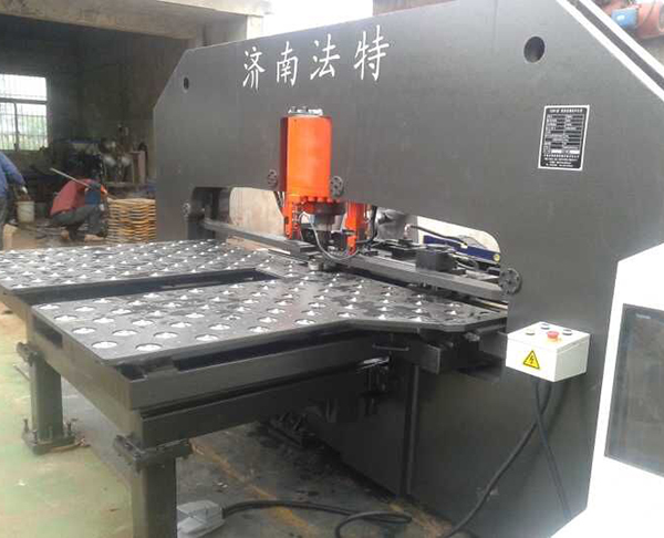 CJ SERIES CNC CONNECING PLATE PUNCHING AND MARKING UNIT