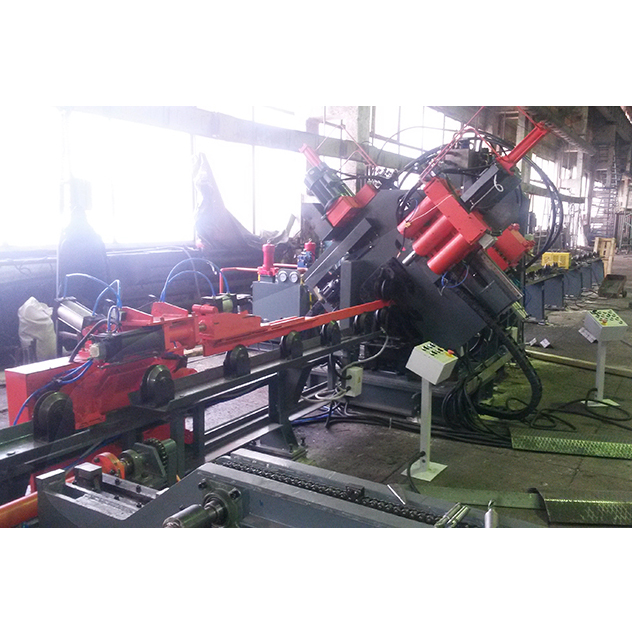 JX2020E angle punching drilling marking and cutting line Technical specifications